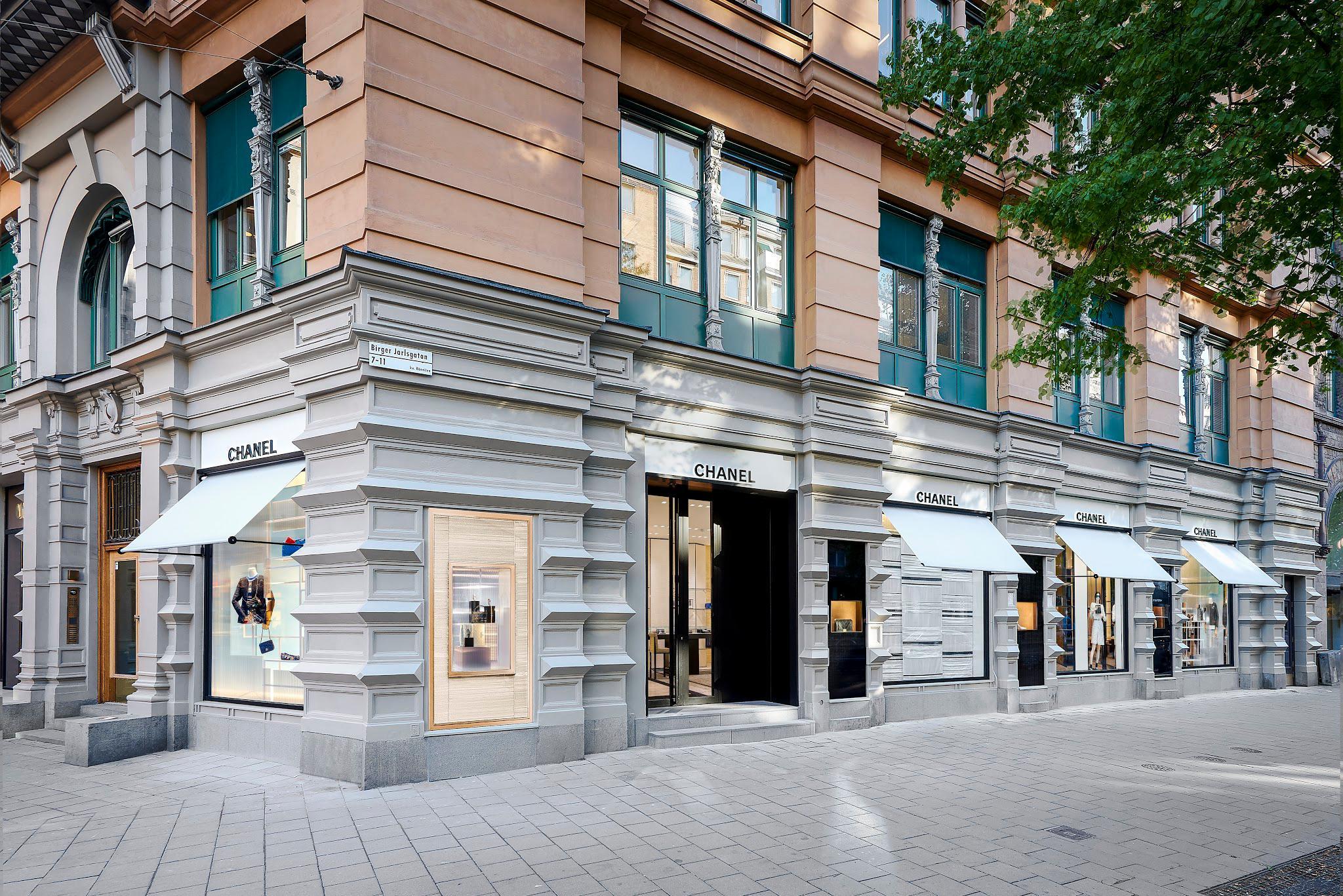 Chanel Stockholm Öppettider