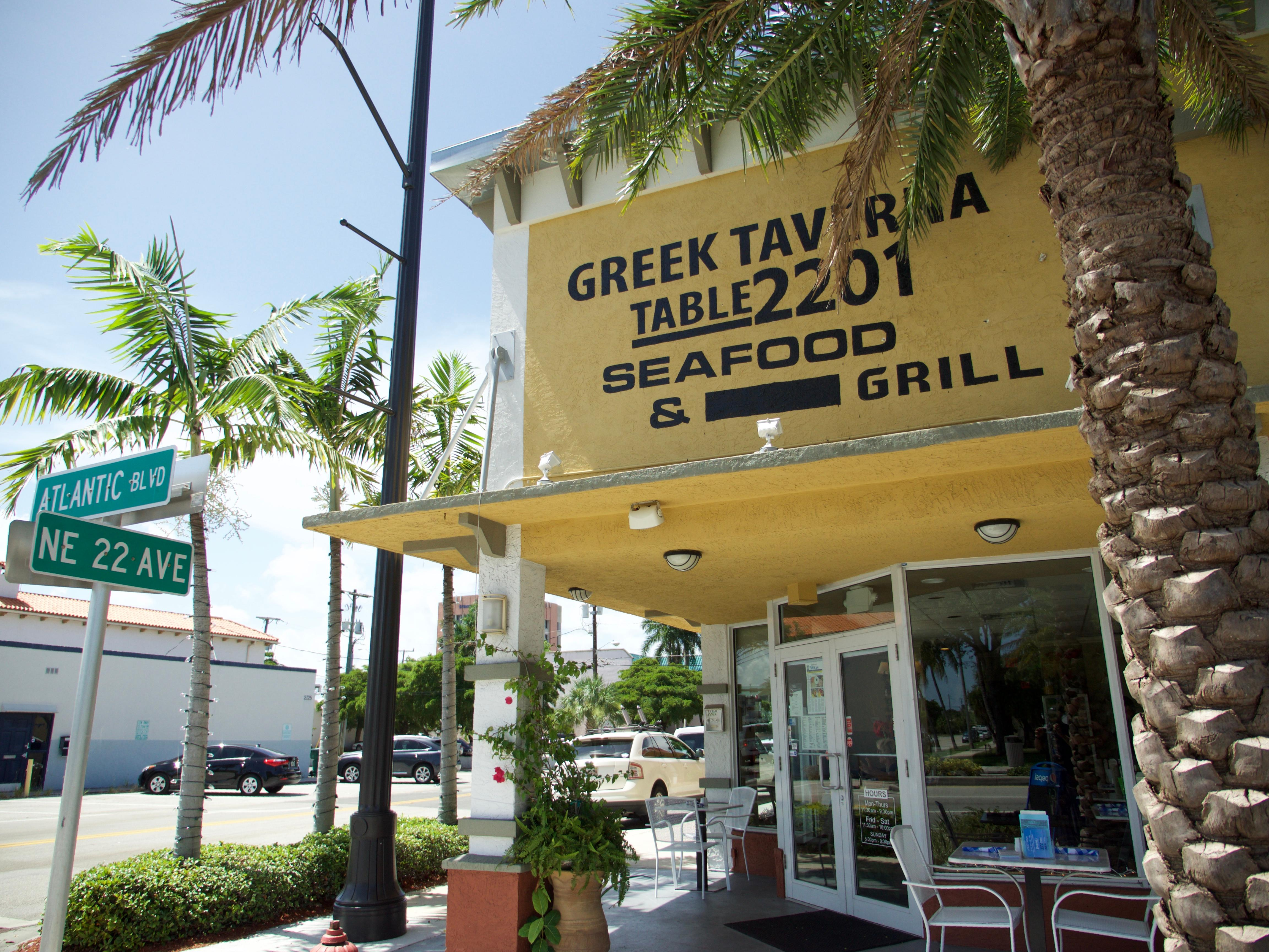 Greek Restaurants Pompano Beach Florida