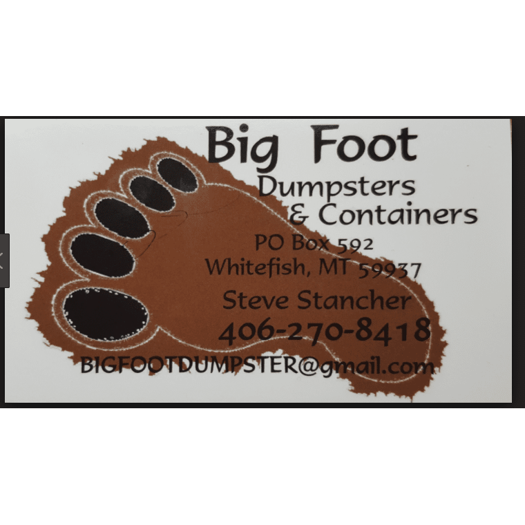 Big Foot Dumpster And Containers