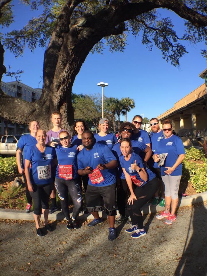 Florida Orthopaedic Institute Staff at Gasparilla Distance Classic 2018