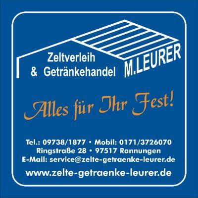 Leurer M. Zeltverleih & Getränkevertrieb OHG
