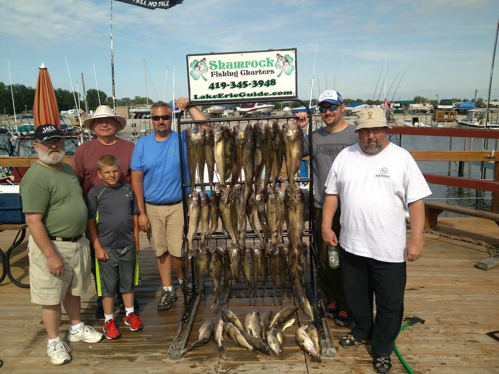 Shamrock fishing charters coupons near me in curtice for Fishing charters near me