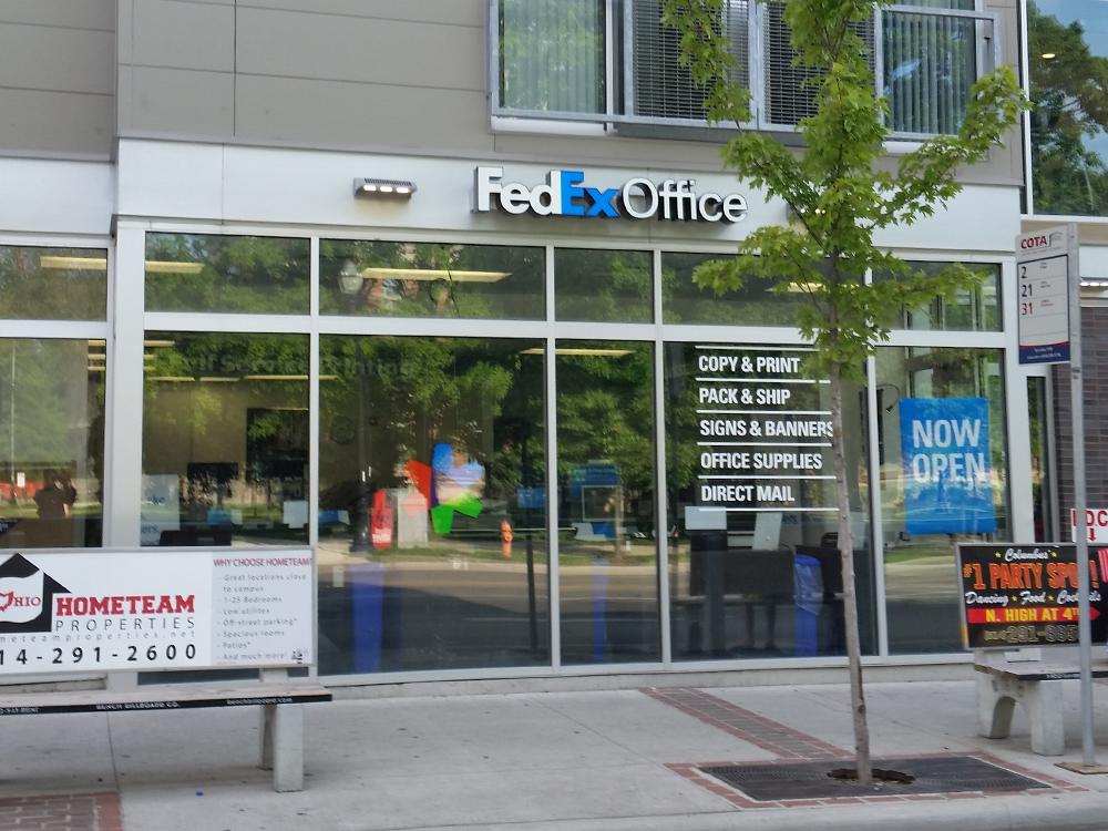 FedEx Office Print & Ship Center Columbus (614)294-7485