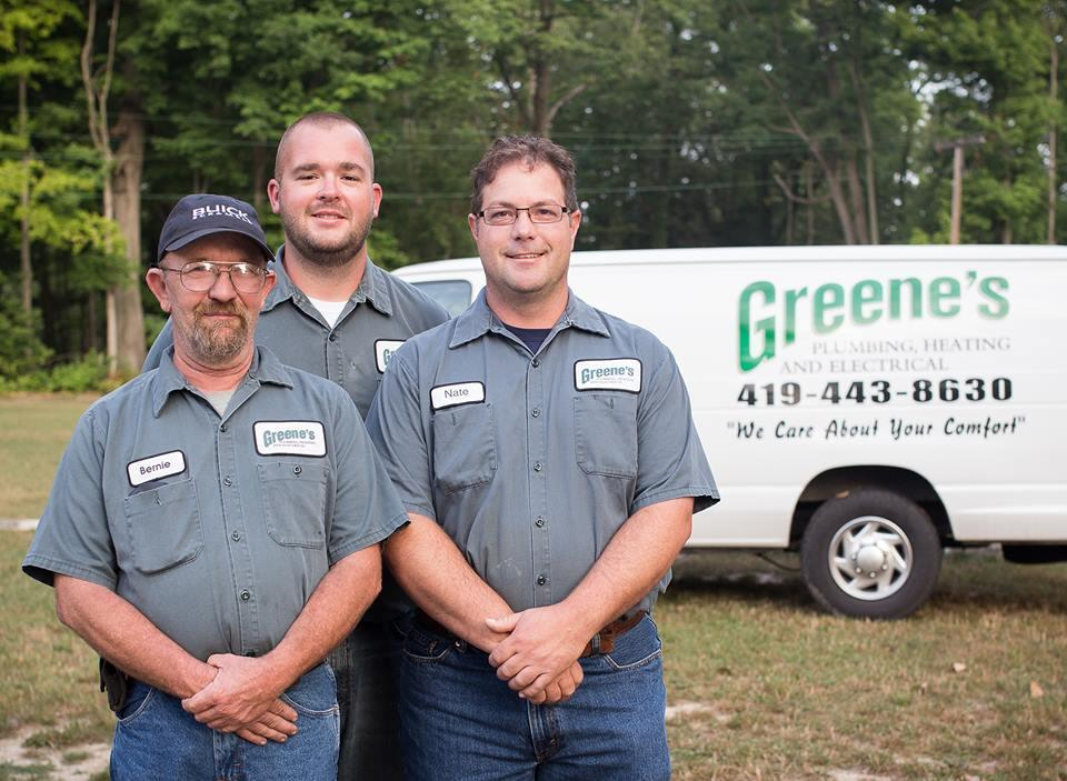 image of Greene's Plumbing Heating & Electrical