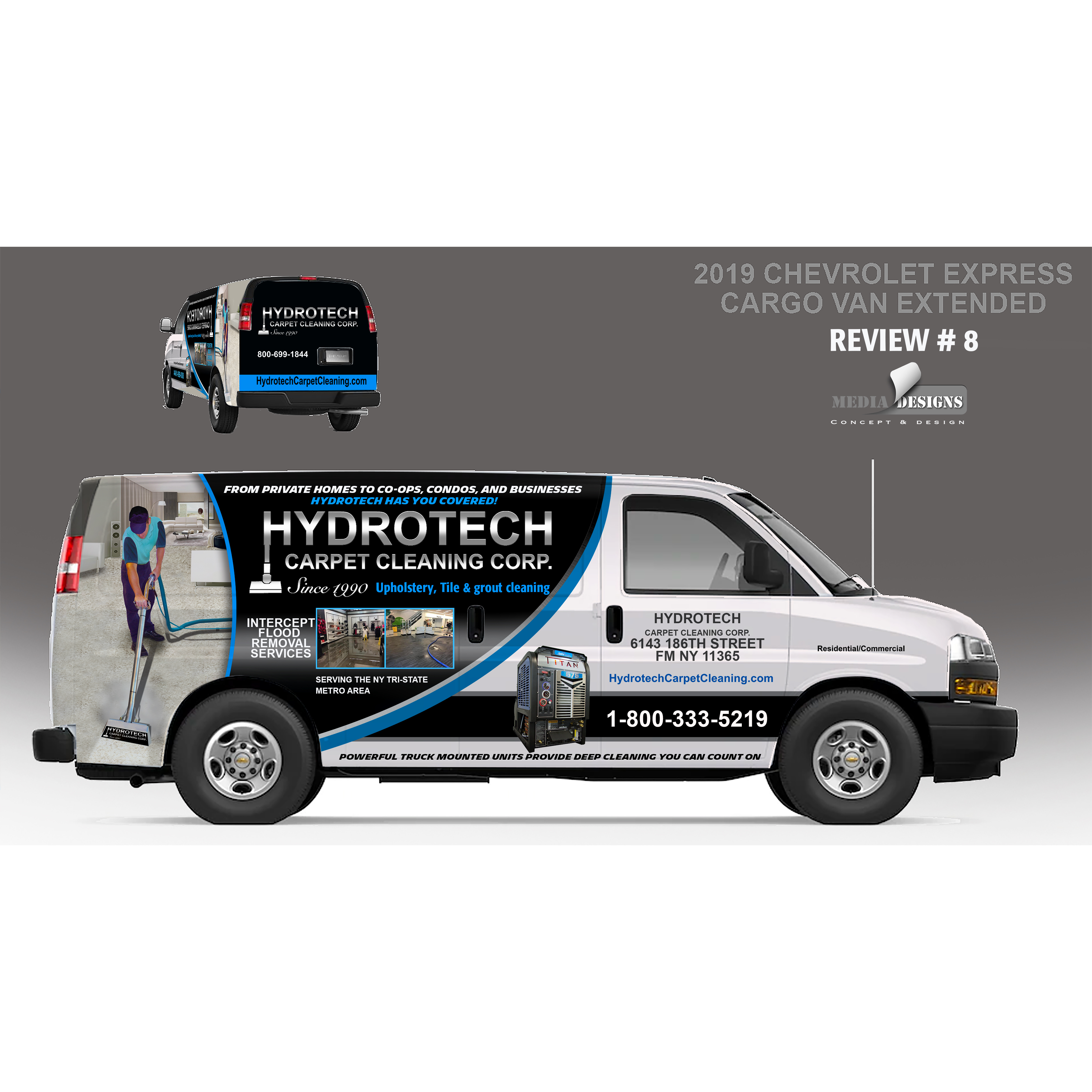 Hydrotech Carpet Cleaning Corp.