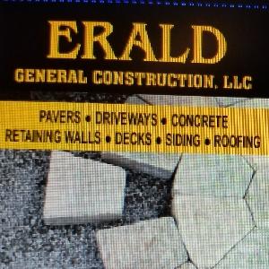 General Contractor in NJ Garfield 07026 Erald Construction LLC 120 River Dr  (973)536-4262