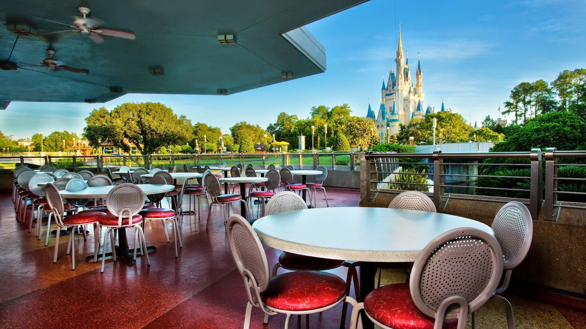 Tomorrowland terrace restaurant in orlando fl 32836 for Terrace bar menu