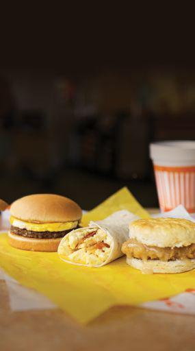 Whataburger Breakfast Trio