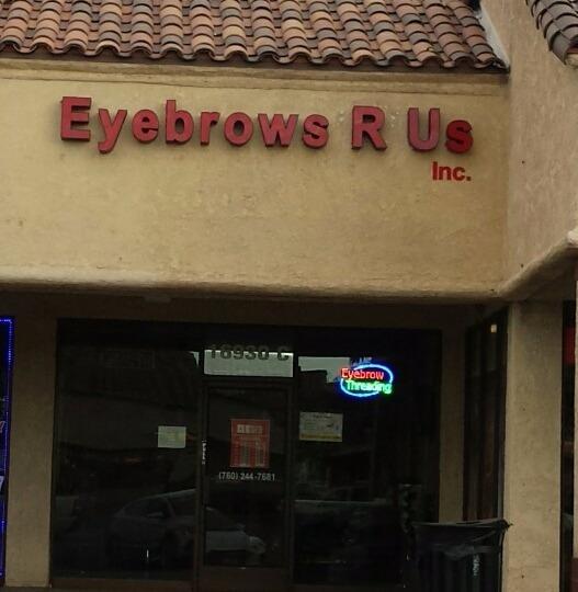 Eyebrowsrus Hesperia California Ca