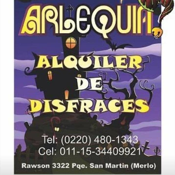 DISFRACES ARLEQUIN