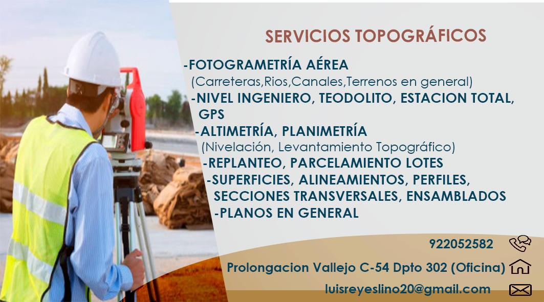 Topolues Topografia Y Fotogrametria Víctor Fajardo