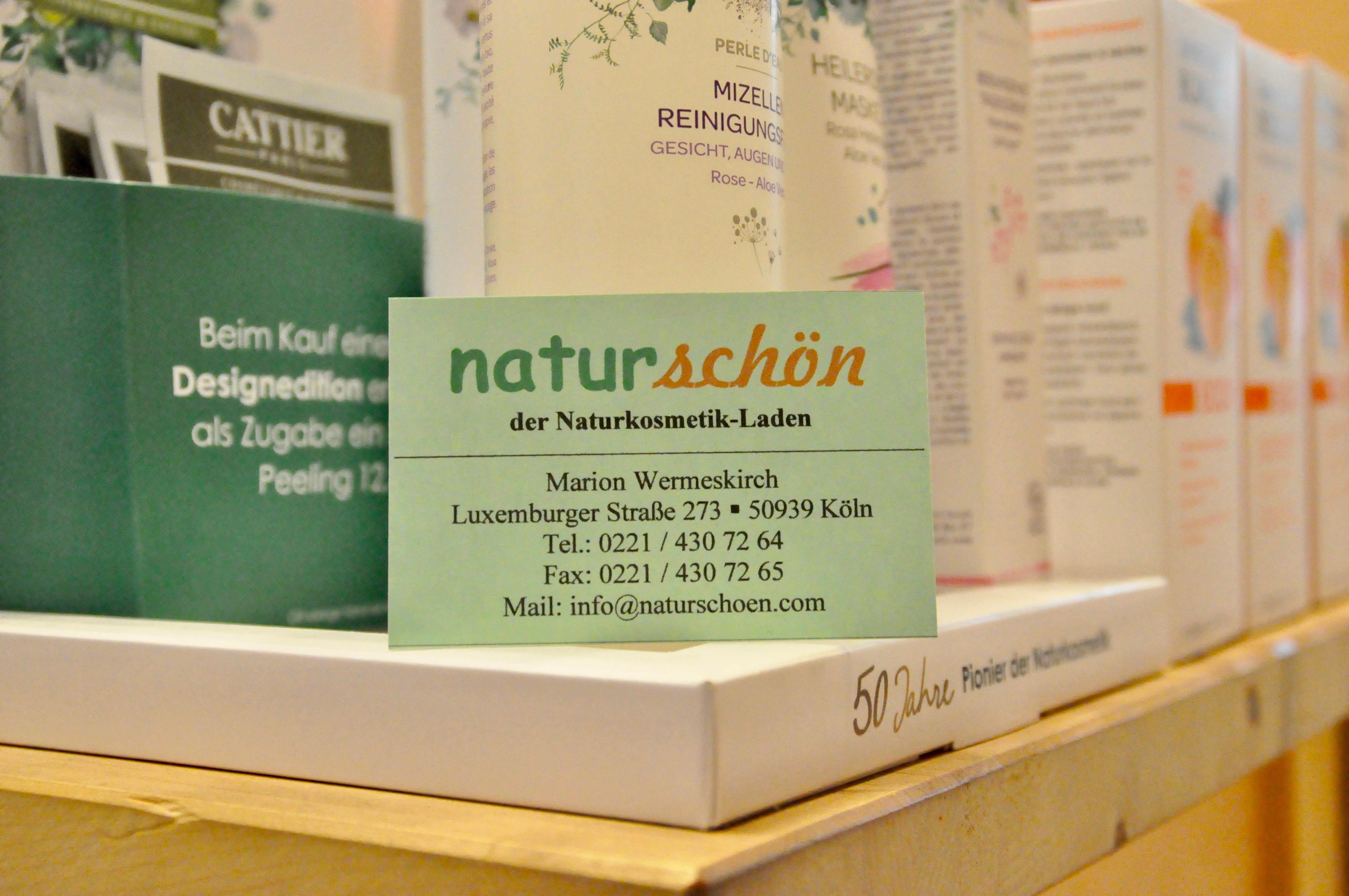 Naturschön - Der Naturkosmetik-Laden Köln