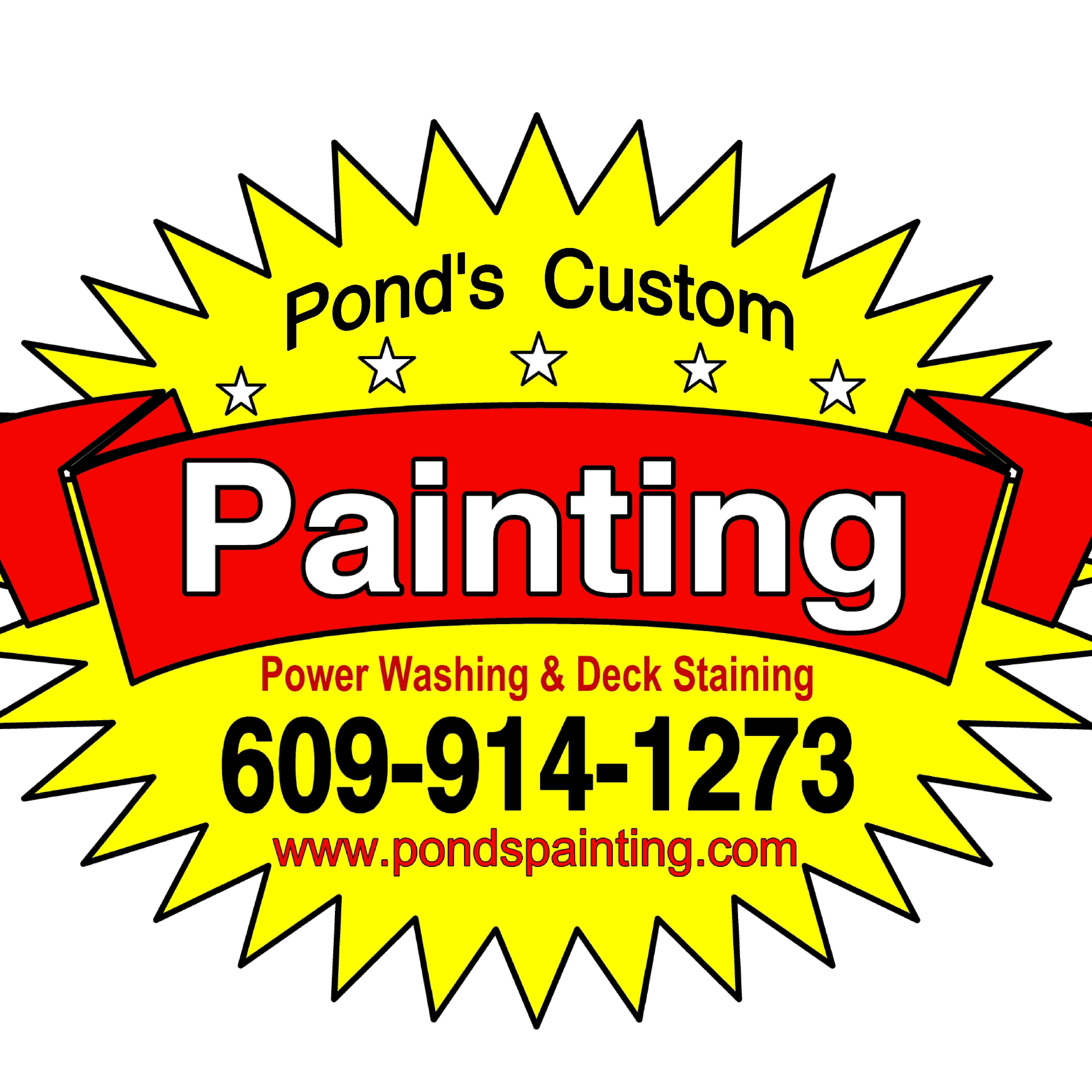 Ponds Custom Painting, Pressure Washing and Deck Staining