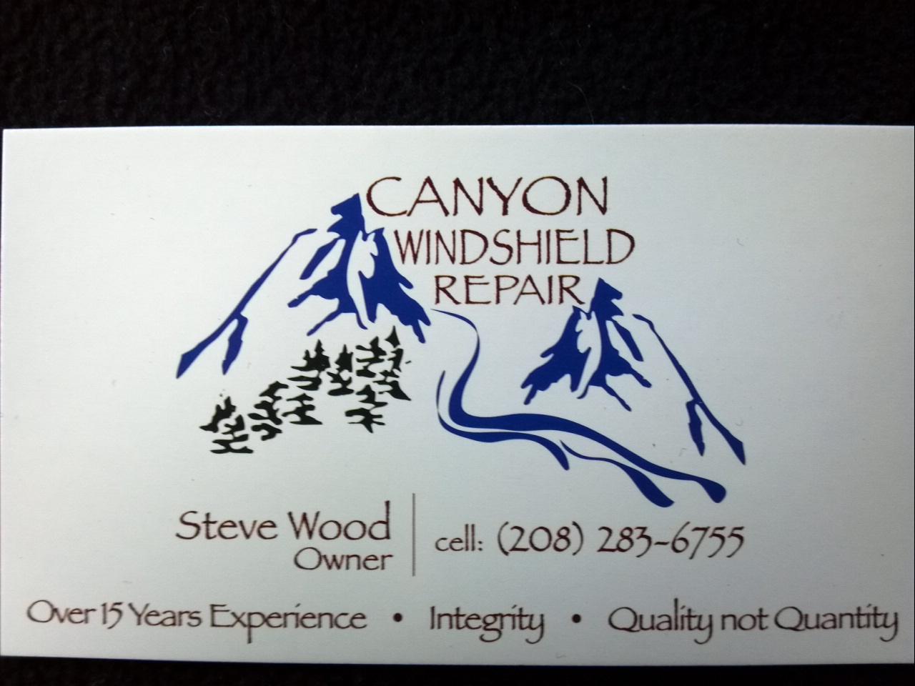 Canyon Windshield Repair