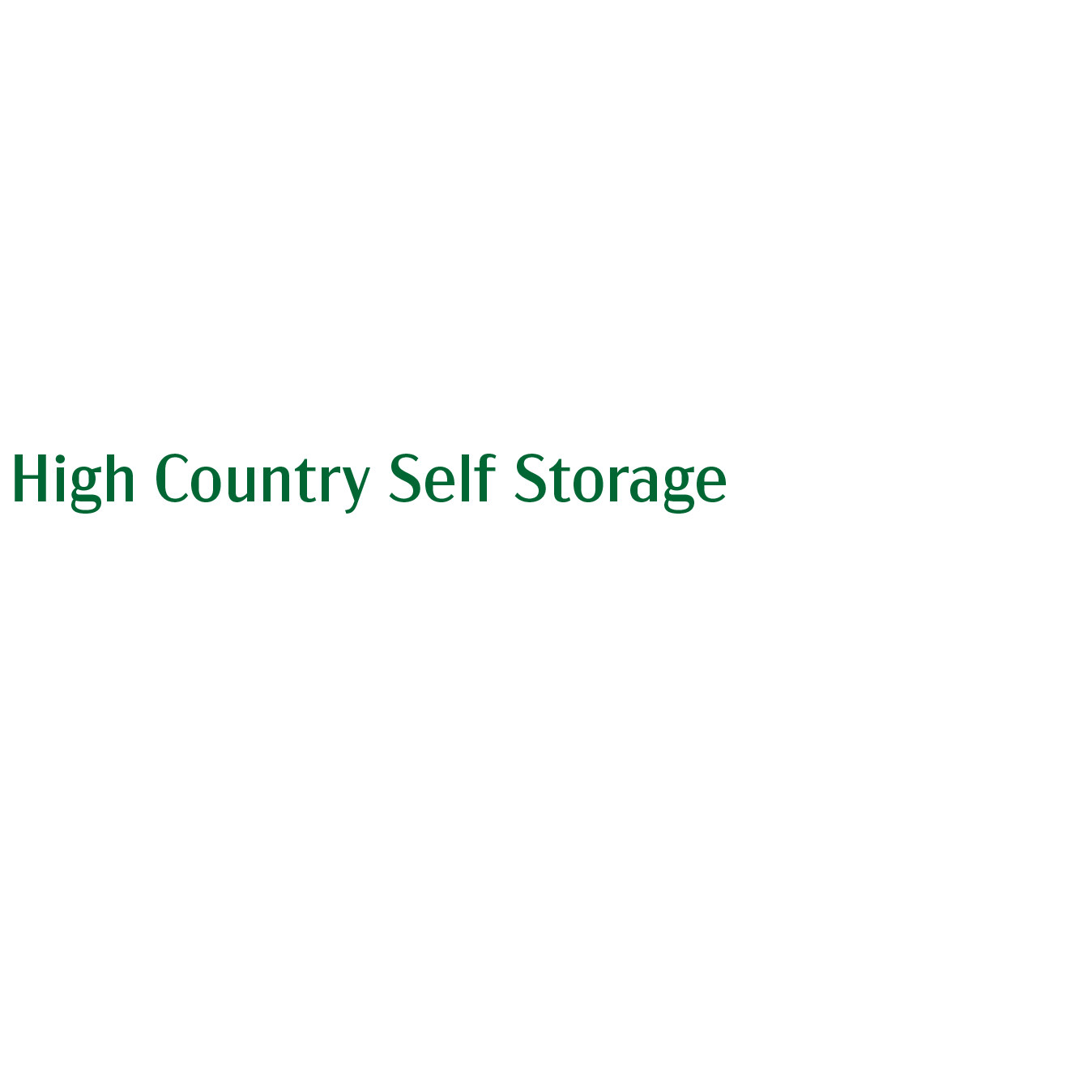 High Country Self Storage - Baldwinsville, NY 13027 - (315)259-1500 | ShowMeLocal.com