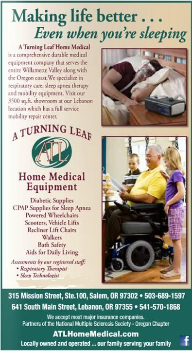 A Turning Leaf Home Medical EQUIPMENT