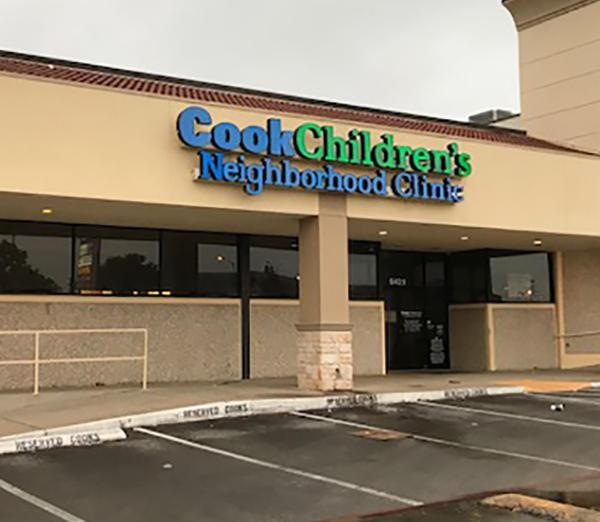 Cook Children's Neighborhood Clinic McCart