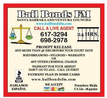 Bail Bonds FM  / DePacco Bail Bonds Serving Santa Barbara and Ventura Counties