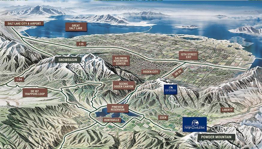 Ogden Valley Realty - Snowbasin - Powder Mountain - Eden Utah - ad image