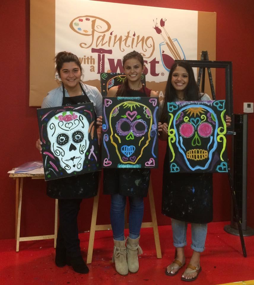 Painting with a twist in san antonio tx 78216 for Wine and paint san antonio