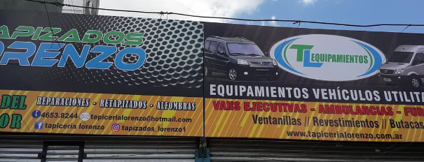 EQUIPAMIENTOS Y TAPICERIA LORENZO