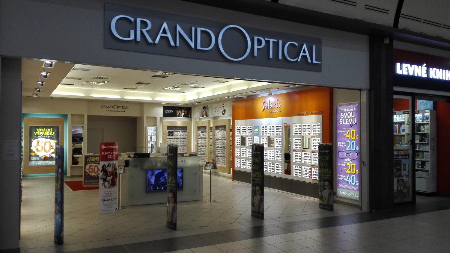 GrandOptical - oční optika OC Nisa