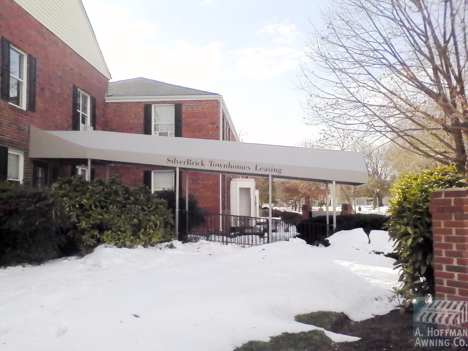 A. Hoffman Awning in Baltimore     410-685-5687   Long walkway canopy offers this patron's customers a safe haven from the elements