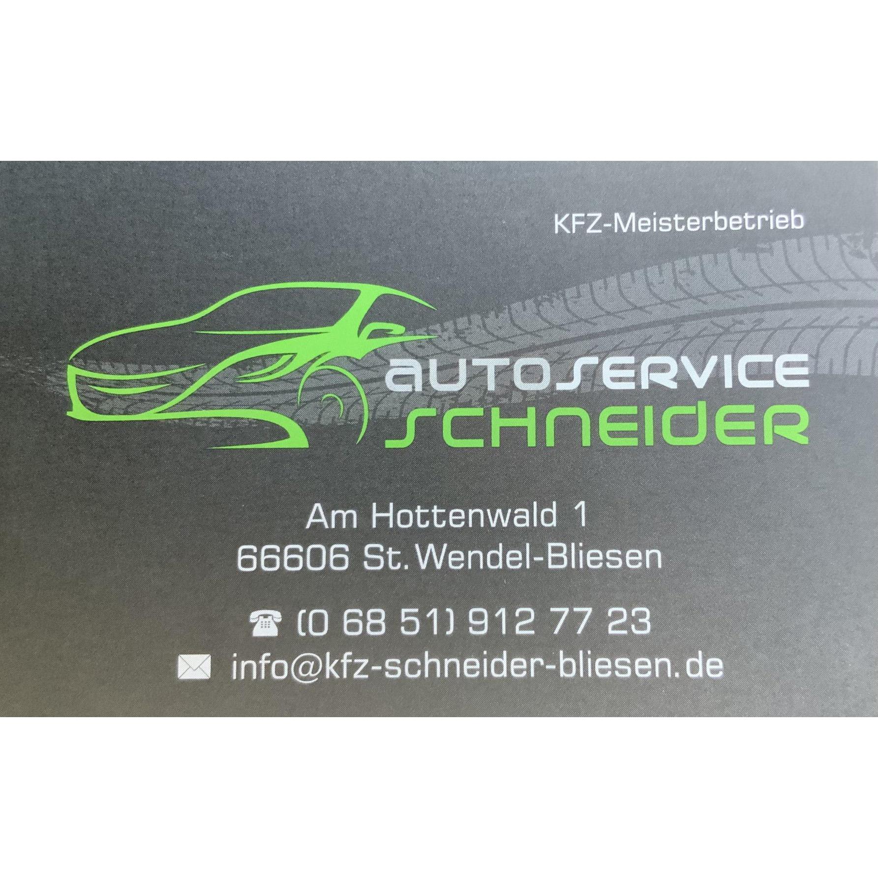 Autoservice Schneider