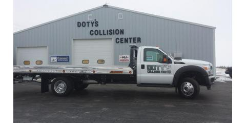 Doty s collision center in mount carroll il 61053 for Euro motors collision center