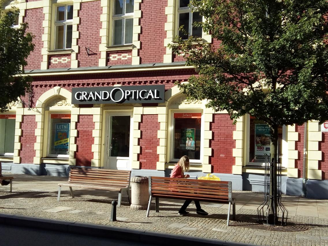 GrandOptical - oční optika Tábor