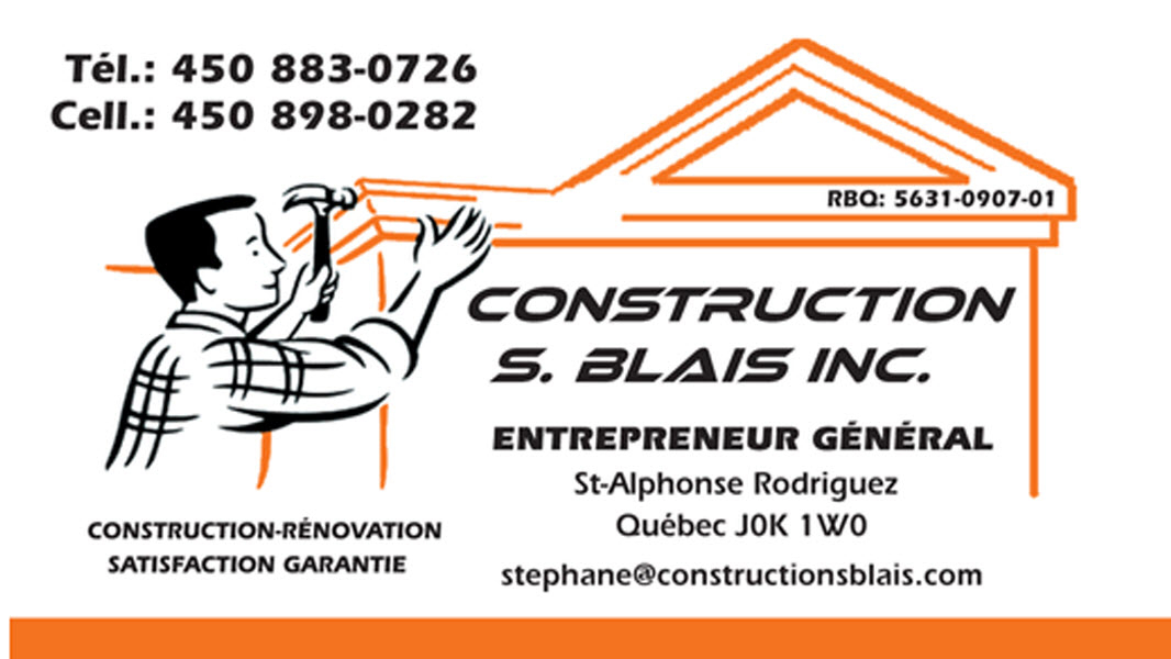 Images Construction S.Blais Inc