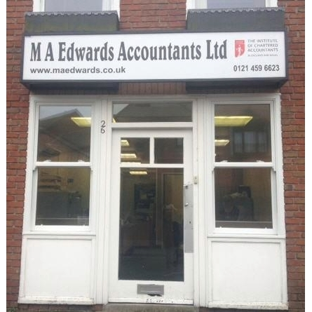image of M A Edwards Accountants Ltd