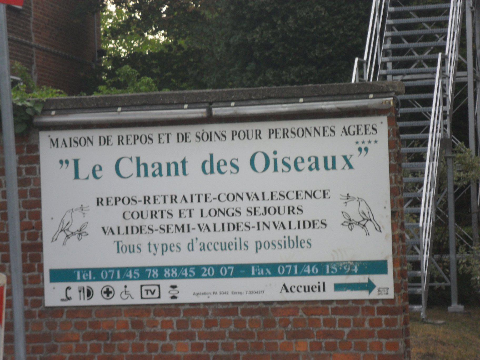 Maison de repos pour personnes âgées Le Chant des oiseaux