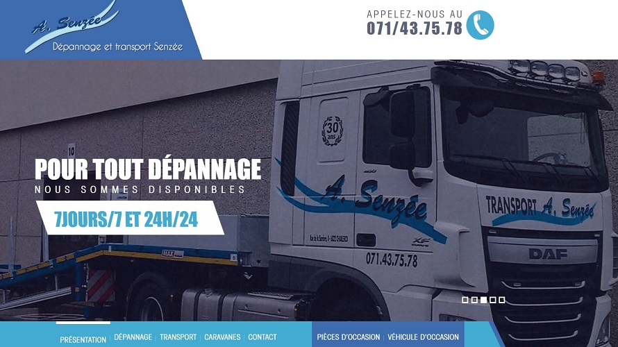 André Senzée Dépannage & Transport