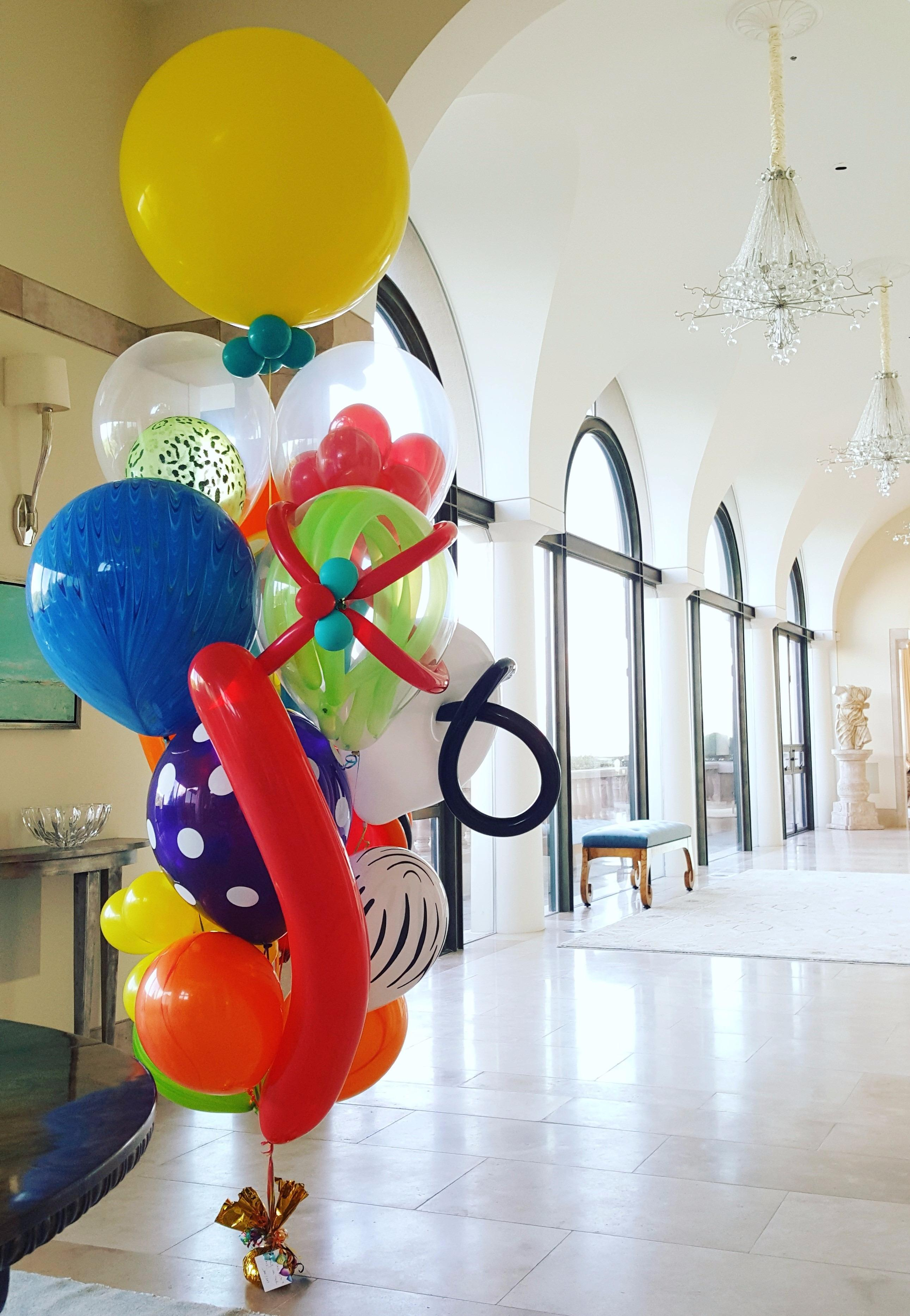 Amazing Balloon Bouquet In Sausalito Chihuly Style