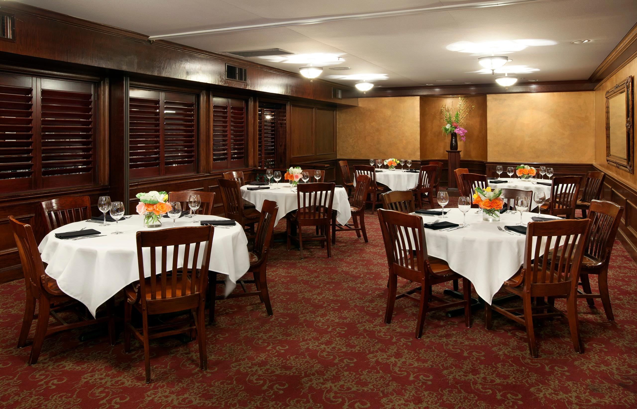 Del Frisco's Double Eagle Steakhouse Fort Worth Fort Worth Room private dining room