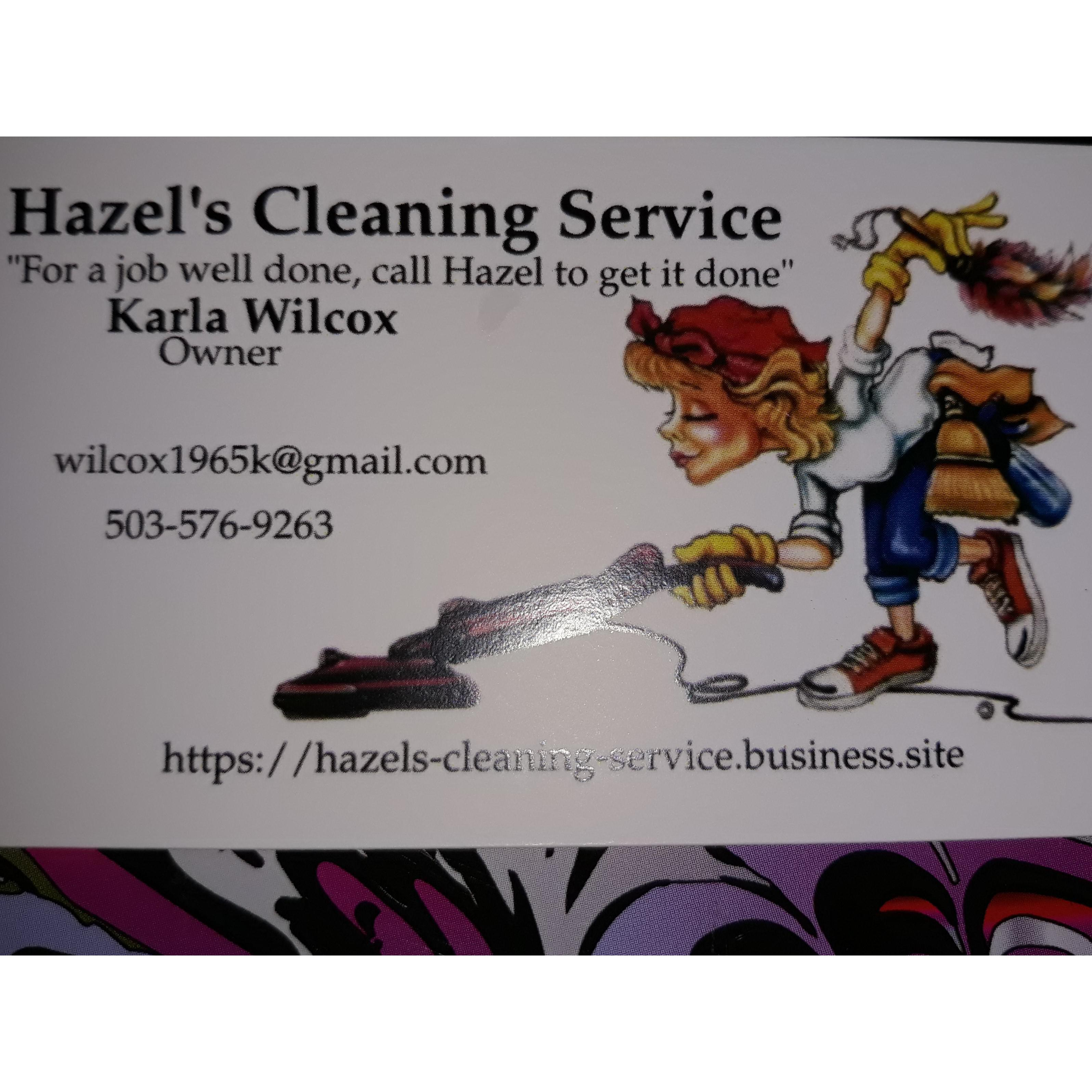 HAZEL'S CLEANING SERVICE
