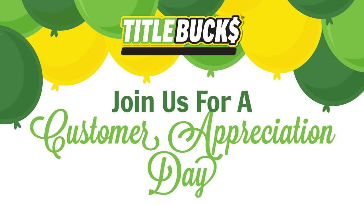 Community Appreciation Day at TitleBucks Marietta, GA