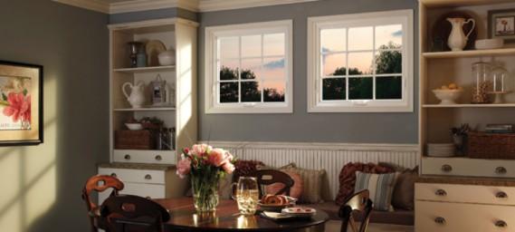 Distinctive vinyl windows with superior performance