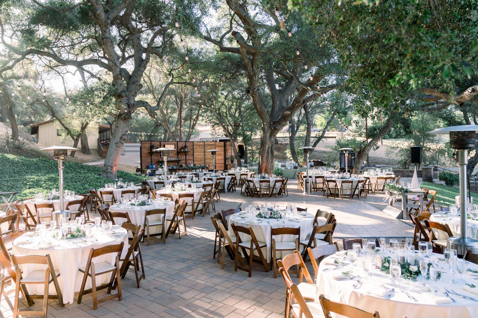 Circle Oaks Ranch Wedding Reception