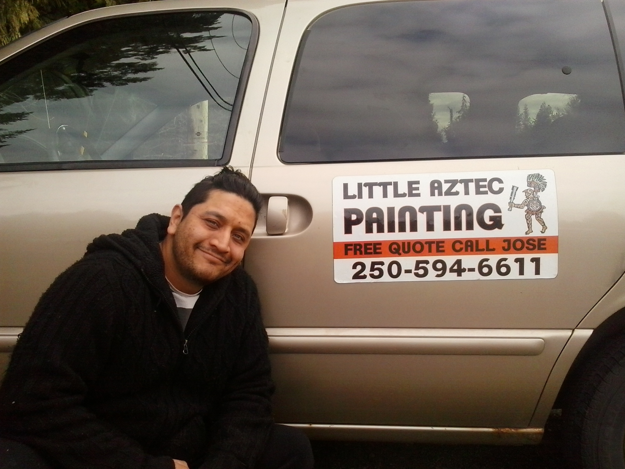 Little Aztec Painting Port Alberni (778)419-1616