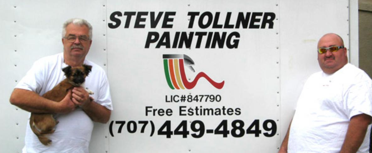 Steve Tollner Painting In Spring Branch Tx 78070