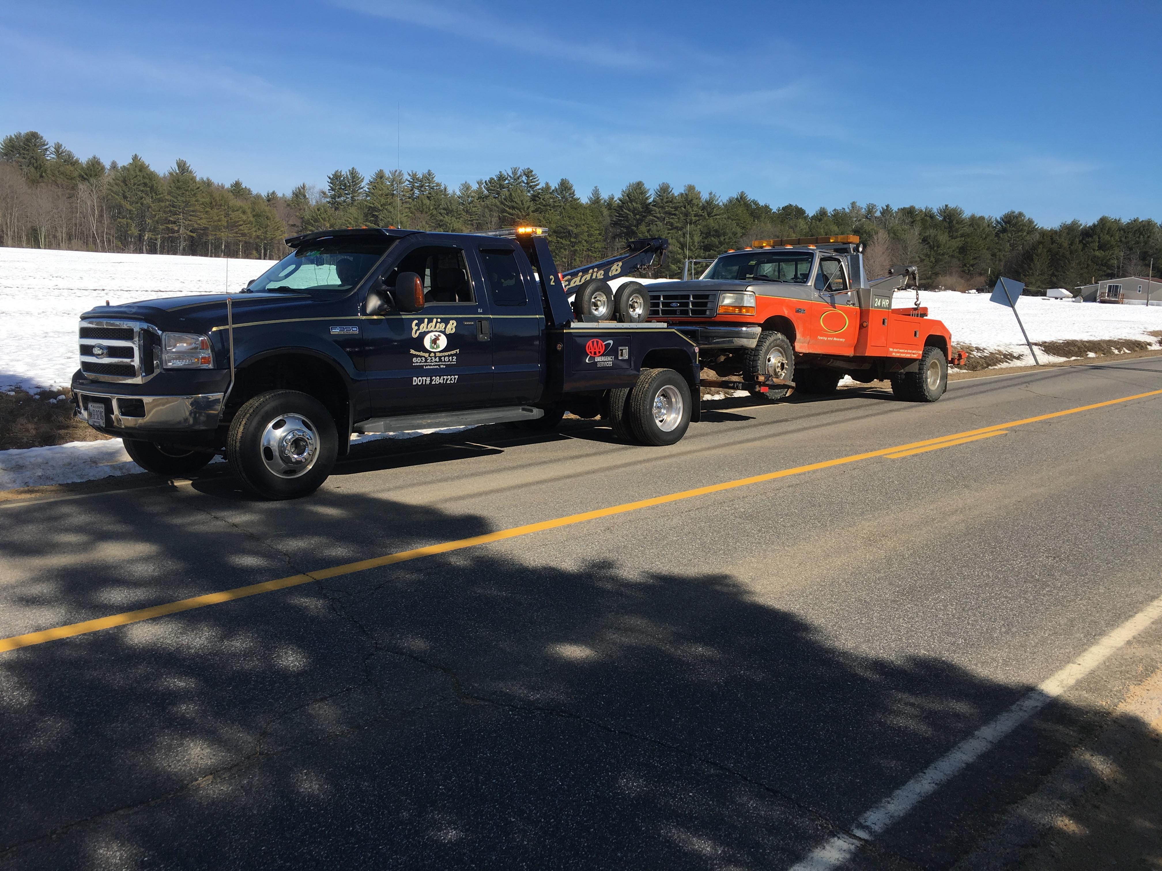 Tire Repair Near Me Open Sunday >> Eddie B Towing & Recovery, Lebanon Maine (ME) - LocalDatabase.com