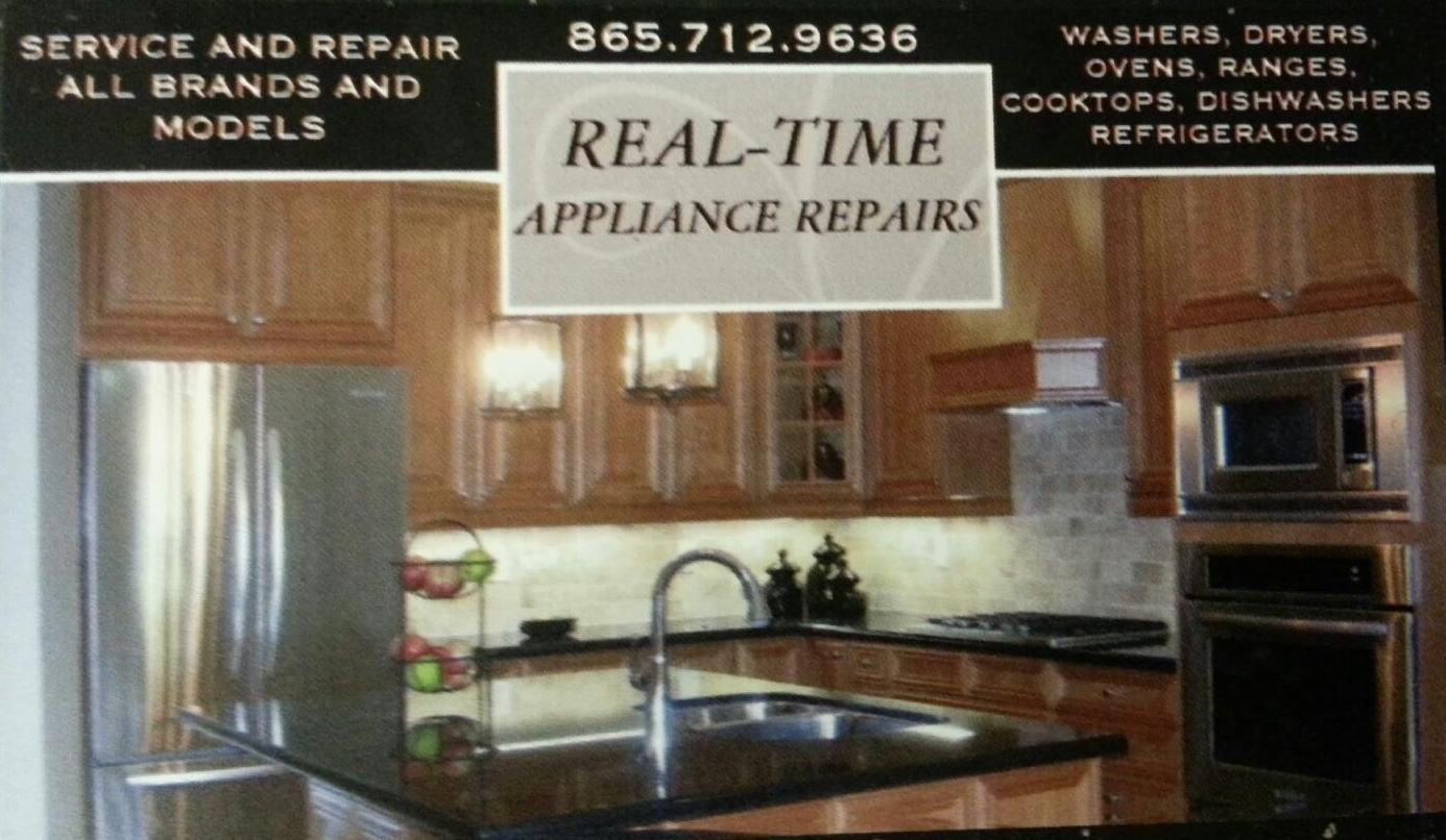 Real Time Appliance Repair In Maryville Tn 865 712 9636