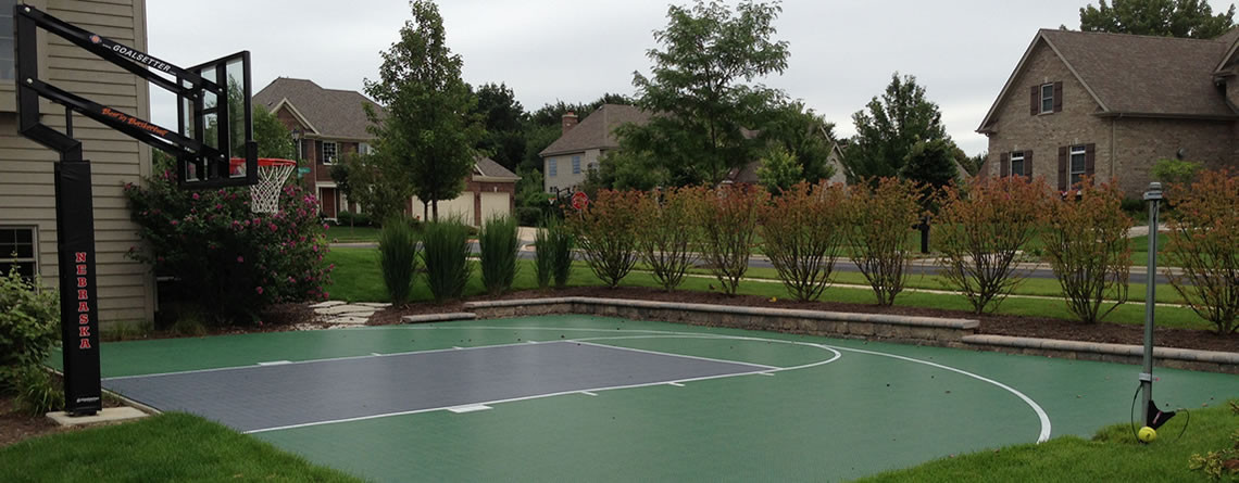 Power court west chicago illinois il for Residential basketball court cost