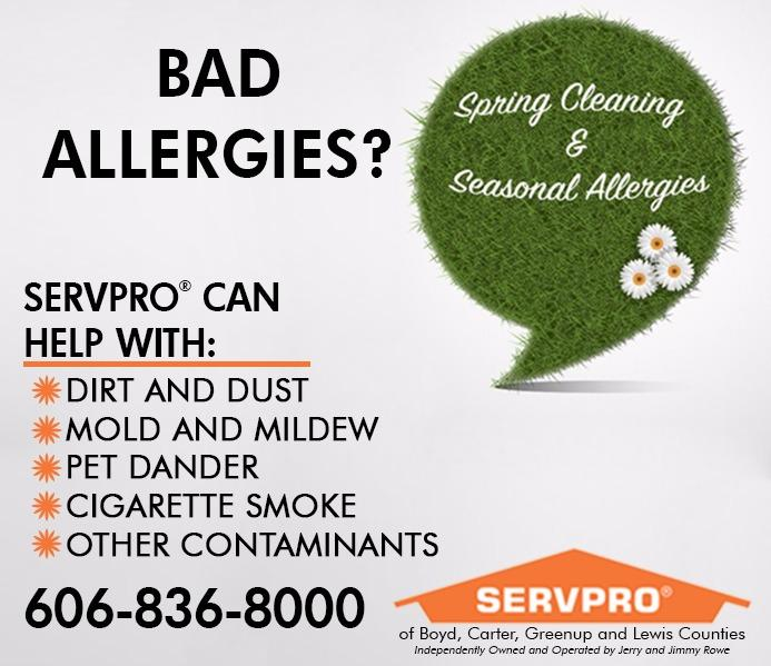 SERVPRO of Boyd, Carter, Greenup, & Lewis Counties in ...