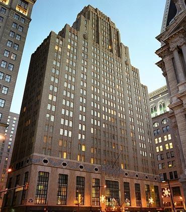 Center City Philadelphia Hotel - Residence Inn by Marriott Philadelphia Center City - Hotel Exterior
