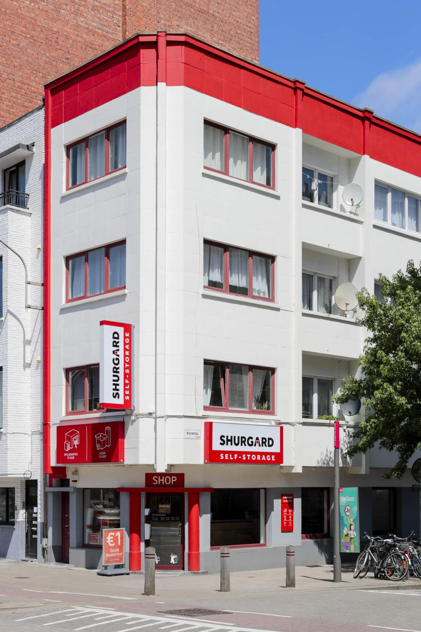 Shurgard Self-Storage Antwerpen Centrum