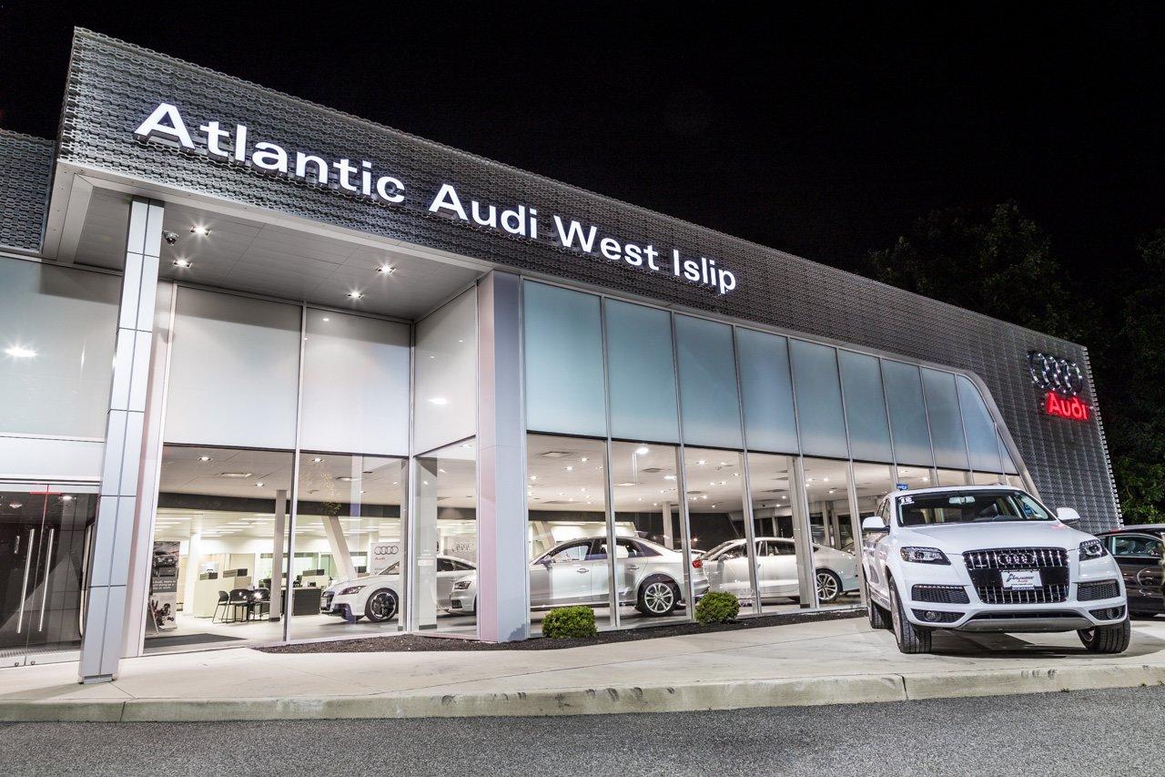 Atlantic audi en west islip ny mecanicos agencias de for Mercedes benz dealership flemington nj