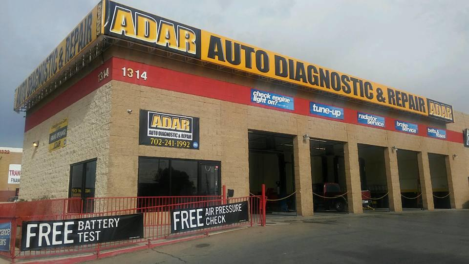 adar automotive diagnostic repair las vegas nevada nv. Black Bedroom Furniture Sets. Home Design Ideas